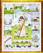 Design Works Crafts 23rd Psalm Cross Stitch Kit