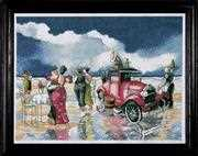 Beach Waltz - Design Works Crafts Cross Stitch Kit