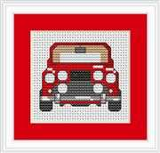 Luca-S Car Mini Kit Cross Stitch