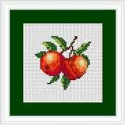 Peaches Mini Kit - Luca-S Cross Stitch Kit