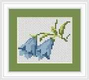 Luca-S Bluebells Mini Kit Cross Stitch