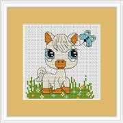 Luca-S Pony Mini Kit Cross Stitch