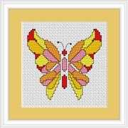 Luca-S Butterfly II Mini Kit Cross Stitch