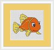 Goldfish Mini Kit - Luca-S Cross Stitch Kit