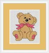 Luca-S Baby Bear Mini Kit Cross Stitch