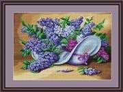Lilacs - Luca-S Cross Stitch Kit
