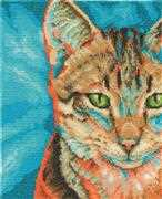 Tabby - DMC Cross Stitch Kit