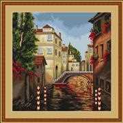 Luca-S Venice Cross Stitch Kit