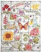 Design Works Crafts Floral ABC Cross Stitch Kit