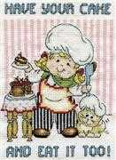 Cake Chef - Design Works Crafts Cross Stitch Kit