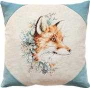 Luca-S Fox Portrait Pillow Cross Stitch Kit