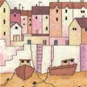 Harbour Wall - Aida - Heritage Cross Stitch Kit