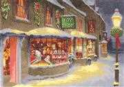 Christmas Toy Shop - Evenweave - Heritage Cross Stitch Kit