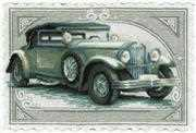 RIOLIS Vintage Car Cross Stitch Kit