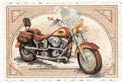 RIOLIS Harley Davidson Cross Stitch Kit