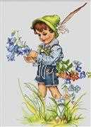 Luca-S Bellflower Cross Stitch Kit