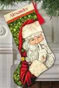 Dimensions Secret Santa Stocking Cross Stitch Kit