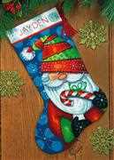 Dimensions Sweet Santa Stocking Tapestry Kit