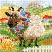 RIOLIS The Farm - Lamb Cross Stitch Kit
