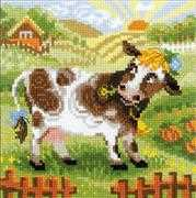 The Farm - Cow - RIOLIS Cross Stitch Kit
