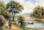 Walk in the Park - RIOLIS Cross Stitch Kit