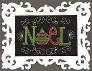 Design Works Crafts Noel Chalkboard Christmas Cross Stitch Kit