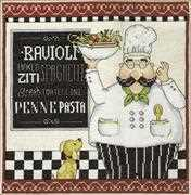 Pasta - Design Works Crafts Cross Stitch Kit