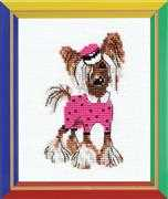 RIOLIS Crested Fashionista Cross Stitch Kit