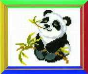 RIOLIS Happy Bee Panda Cross Stitch Kit