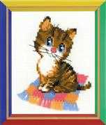RIOLIS Kitten Cross Stitch