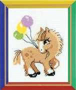 RIOLIS Pony Crony Cross Stitch Kit