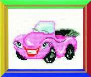 RIOLIS Cabriolet Cross Stitch Kit