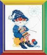 RIOLIS Happy Bee Stitch After Stitch Cross Stitch Kit