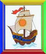 RIOLIS On the Waves Cross Stitch Kit
