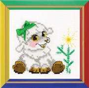 RIOLIS Little Lamb Christmas Cross Stitch Kit