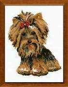 Yorkshire Terrier - RIOLIS Cross Stitch Kit