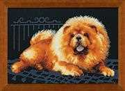 RIOLIS Chow Dog Cross Stitch Kit