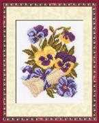 Pansy Letter - RIOLIS Cross Stitch Kit