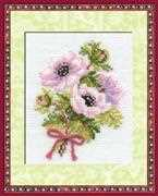 RIOLIS Anemones Cross Stitch Kit