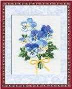 RIOLIS Violas Cross Stitch Kit