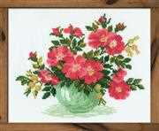RIOLIS Wild Rose Cross Stitch Kit