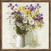 RIOLIS Wildflowers Cross Stitch Kit