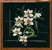 RIOLIS White Orchid Cross Stitch Kit