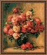 RIOLIS Bouquet of Roses Cross Stitch Kit