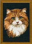 Red Cat - RIOLIS Cross Stitch Kit