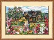 RIOLIS Flowering Garden Cross Stitch Kit