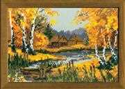 RIOLIS Autumn Charm Cross Stitch Kit