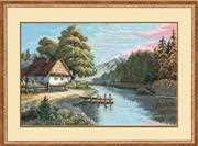 Still and Silent River - RIOLIS Cross Stitch Kit