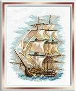 RIOLIS Ship Cross Stitch Kit