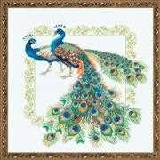 RIOLIS Peacocks Cross Stitch Kit